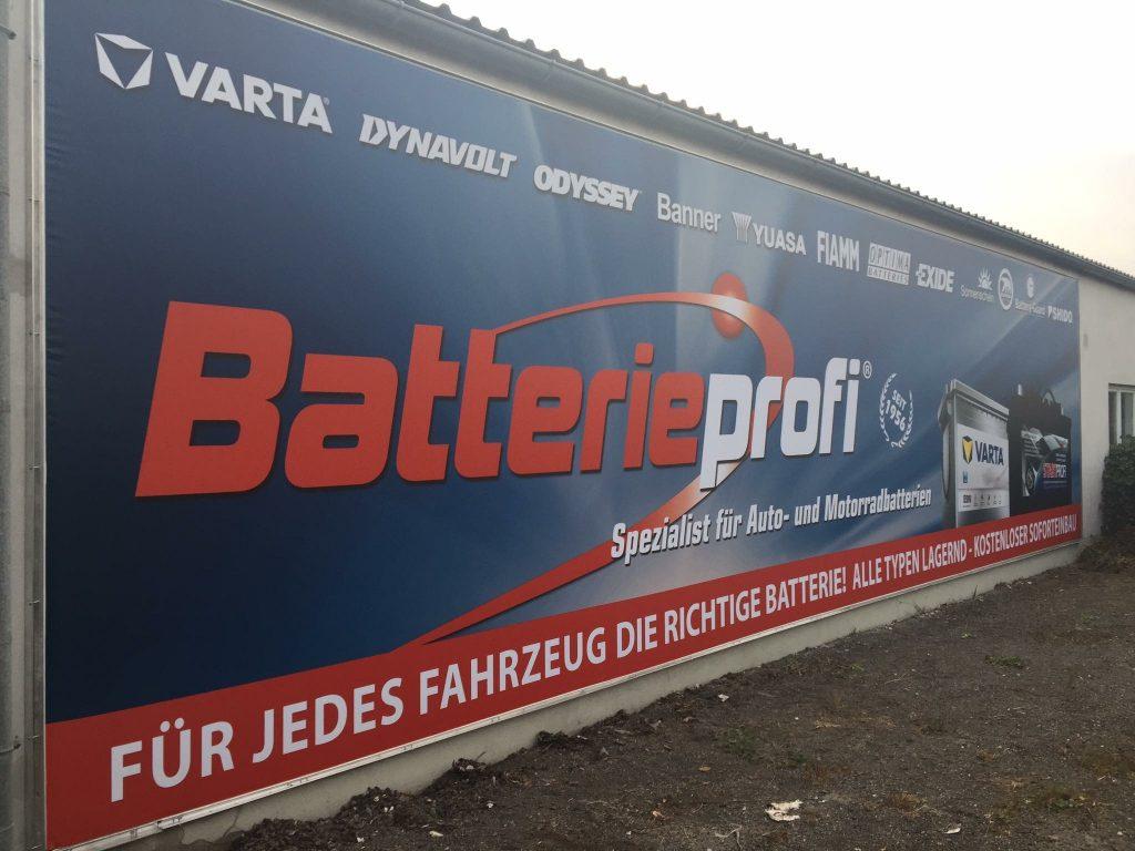 Transparent-Batterie-Profi